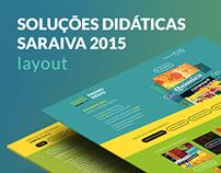 Soluções Didáticos Saraiva 2015 • Layout