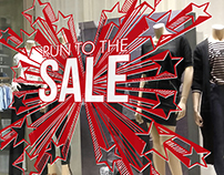 Run to the sale - vidrieras para Zhoue