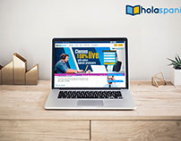 Página Web holaspanish