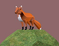 Low poly - Zorro
