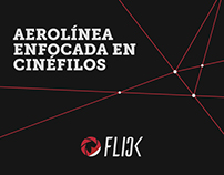 Flick Airlines // branding
