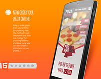 Pizza Web Order Web App