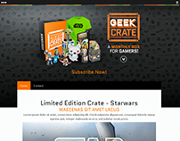Web Design GeekCrate - Template Jimdo
