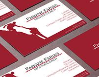 Cartão de Visita - Fabiane Farias Master Coach