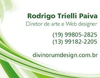 Cartão de visita Divinorum Design