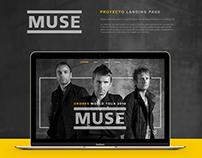 MUSE - Landing Page