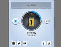 Online Radio UI
