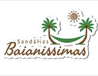 PROJETO LOGO PARA SANDALIAS BAIANISSIMA
