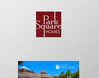 """Park Square"" Real State flyer design."