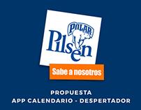 Pilsen | Propuesta App Calendario - Despertador