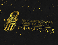 Logo & Web Design - Penya Barcelonista de Caracas