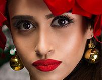 CIM Fashion Model's Christmas Photoshoot