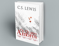"Redesign book cover ""The four loves"""