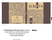 Projeto gráfico e diagramação - Revista Scripta