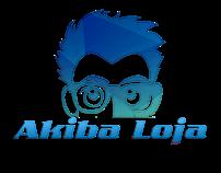 Logotipo e Capa - Akiba Loja