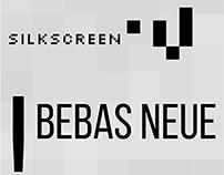 Secuencia tipográfica en pantalla