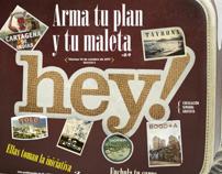 Portadas Revista Hey!