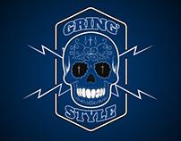 Logo Loja de roupas GRING'S STYLE