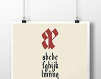 Alfabeto Ramirus - Tipografía nivel 2
