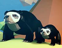 Ecuadorian Fauna - Lowpoly series