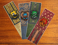 Harry Potter book markers