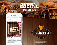 social media restaurante