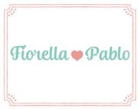 Boda - Fiorella y Pablo