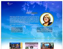 Diseño web de página angelesmensajeros.com
