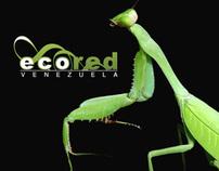 EcoRed visual identity system