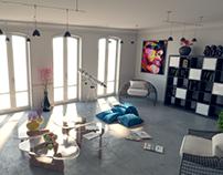 LOFT VIA CALERA Diseño interior