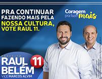 Campanha 2016 - Candidato Raul Belém - Araguari-MG