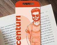 Design Centuri Proyect Milenial Geek Bookmark