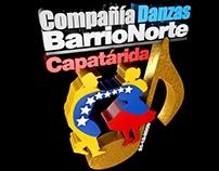 Logo 3D Danzas Barrio Norte.