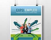 Diseño de imagen para Expo Empleo