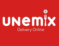 App Unemix - Delivery de Comida