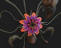 Flower Monster - Model for video games