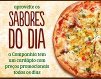 Site Companhia das Pizzas