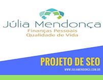 Projeto Seo www.juliamendonca.com.br