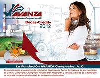 Becas Crédito Avanza 2012