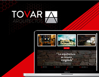 TOVAR ARQUITECTOS WEBSITE