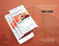Apresentação App Card Iguatemi Floripa #Design #Apps