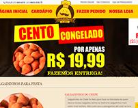Customização do site salgadinhosdochefe.com