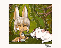 Nanachi y Mitty - Made in abyss