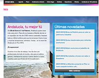 Microsite Turismo Andalucía para Fitur 2015