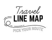 TRAVEL LINE MAP