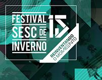 Produção Gráfica Festival Sesc de Inverno 2016