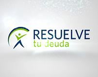 Animación de logotipo para Resuelve tu Deuda
