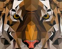Tigre Poligonal