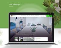Site Redesign | 01