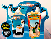 Display Pinguins de Madagascar